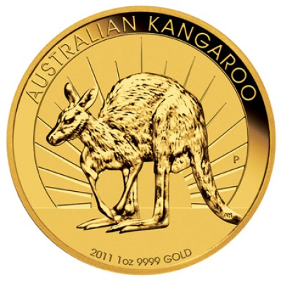 Känguru 1 Unze zur Lagerung