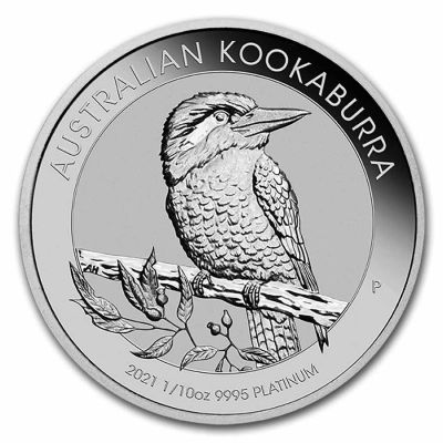 Kookaburra 1/10 Unze Pt 2021