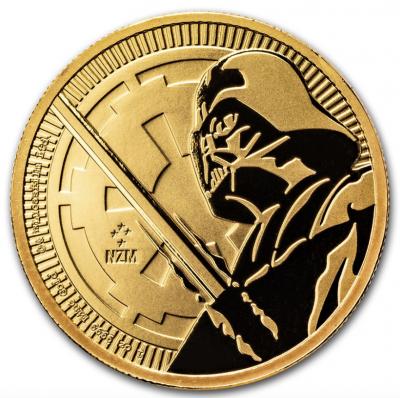 250 Dollar Darth Vader Niue 2018