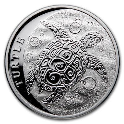 Niue Schildkröte 1 Unze 2021