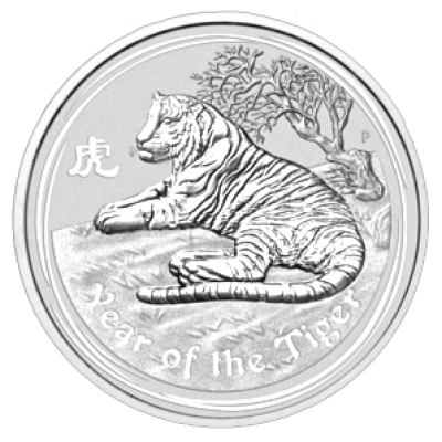 Jahr des Tigers 1 kg 2010 / Lunar II