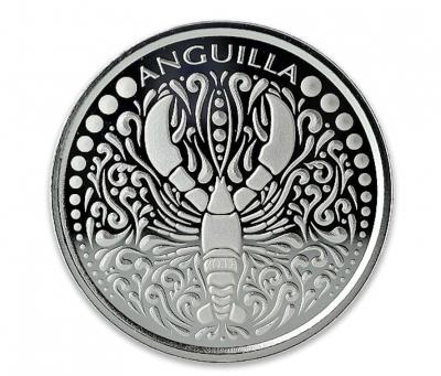 Anguilla Lobster 1 Unze 2018 Silber