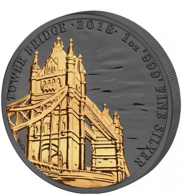 2 Pfund Landmarks Of Britain Tower Bridge Golden Enigma 2018