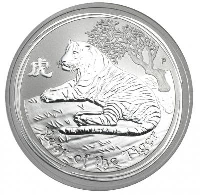 Jahr des Tigers 1 Unze 2010 Lunar II