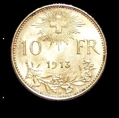 10 Franken Vreneli