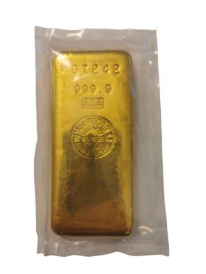 Goldbarren 1 kg Feingold Swiss Bank SBS